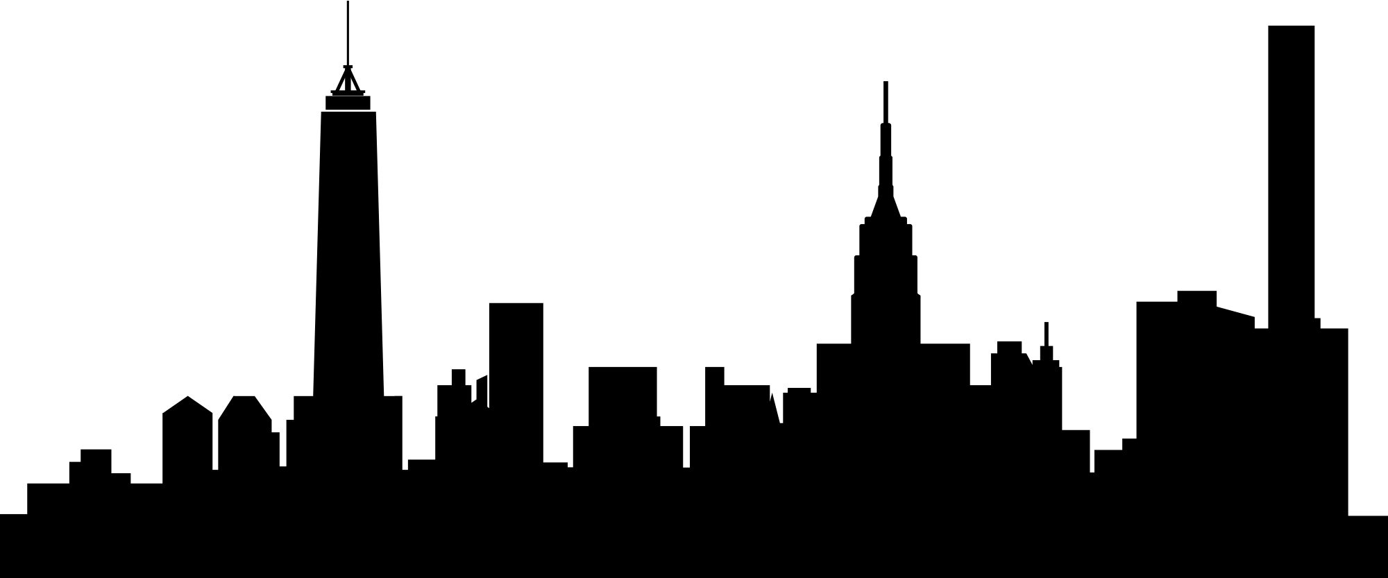 New york city silhouette png. Ny at getdrawings com
