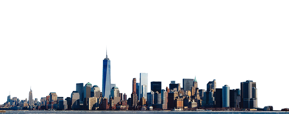 New york png stickpng. Skyline transparent vector library library