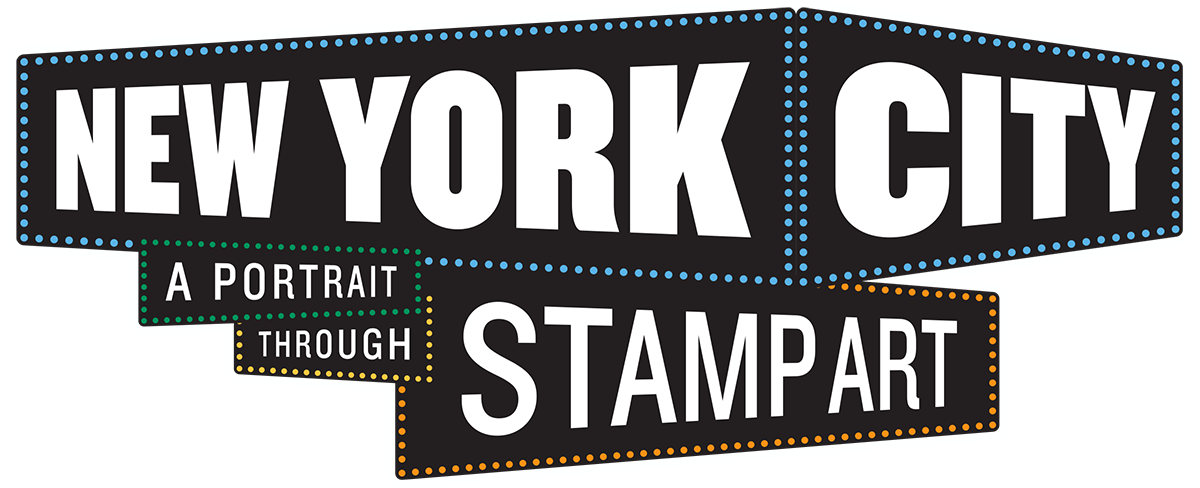 New york stamp png. City a portrait through
