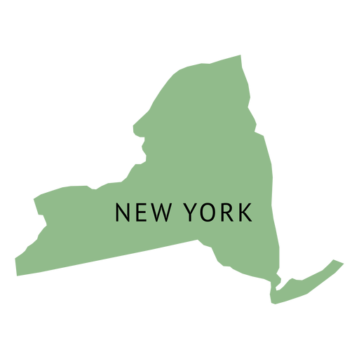 New york map png. State plain transparent svg