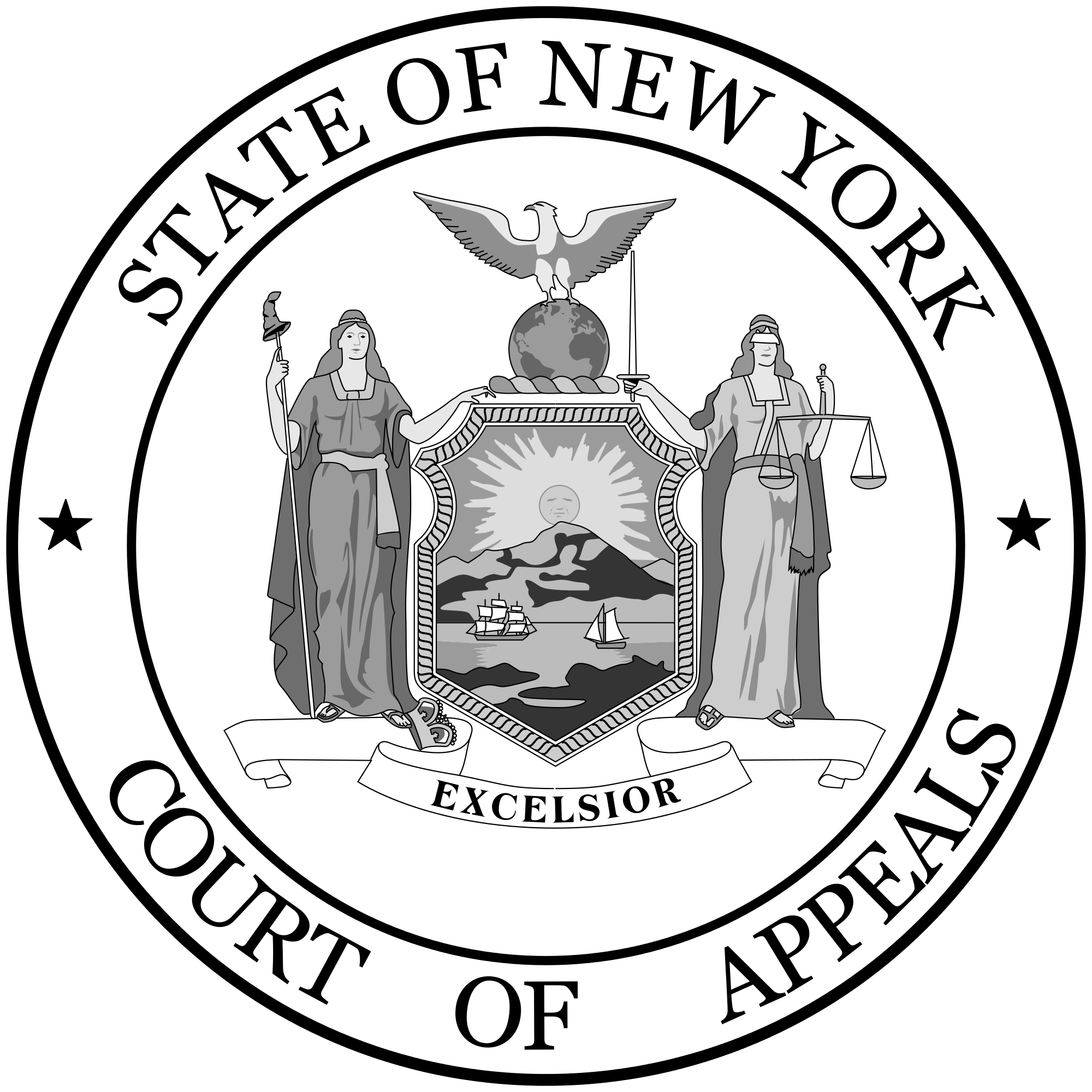 New york state seal png. File of the court
