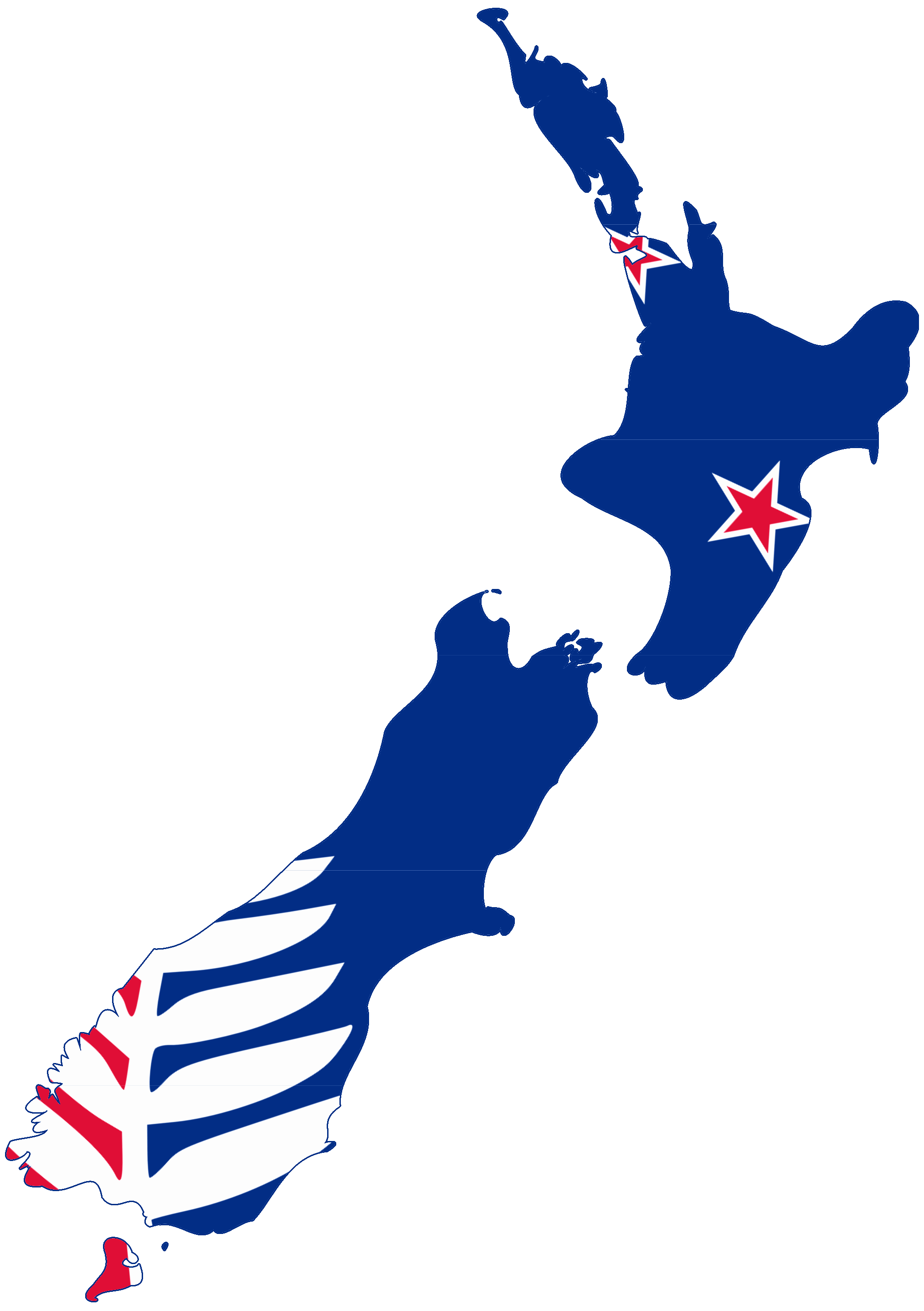 New zealand map png.