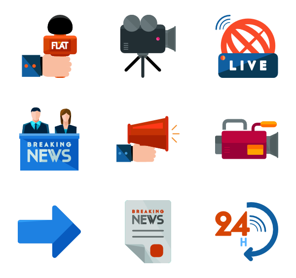 News png.  icon packs vector image royalty free