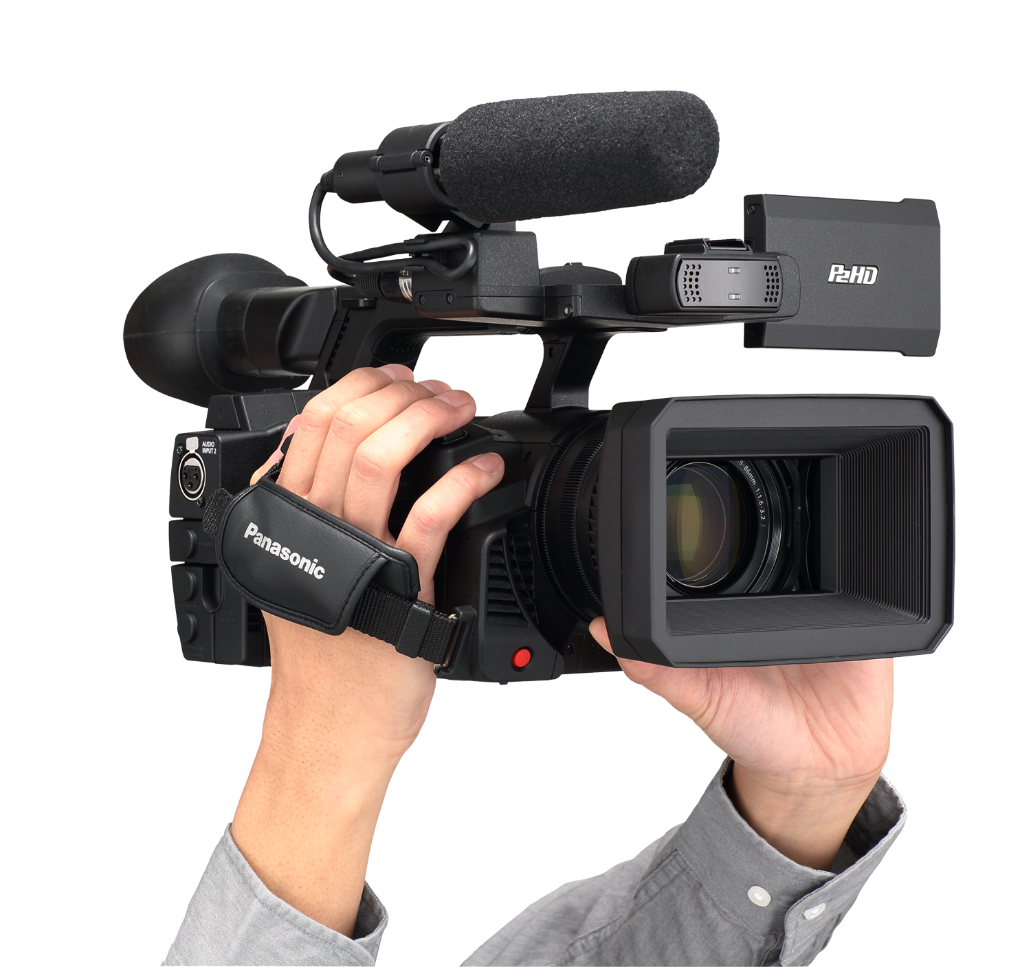 News camera png. P cast workflow professional