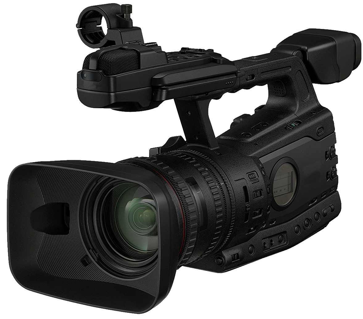 News camera png. File with transparent background