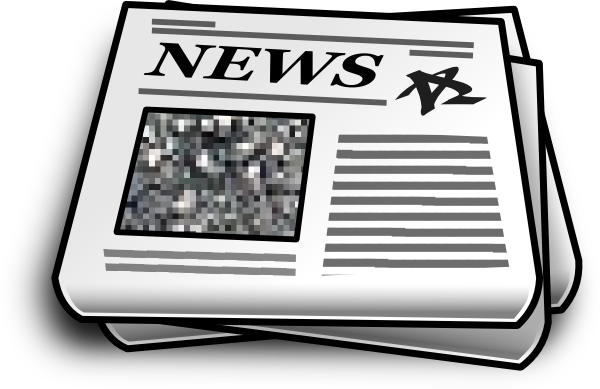 News paper png. Newspaper clip art at