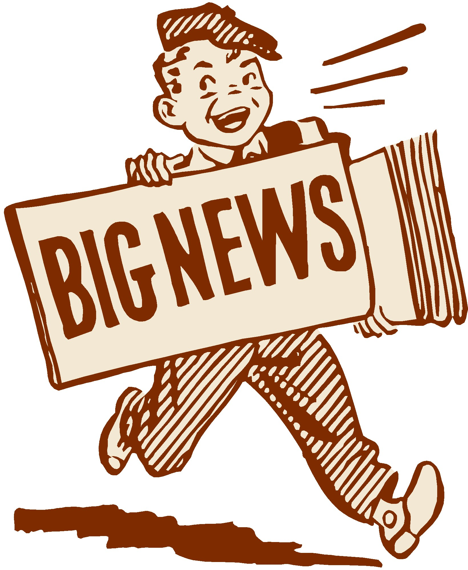 Update clipart great news. Big