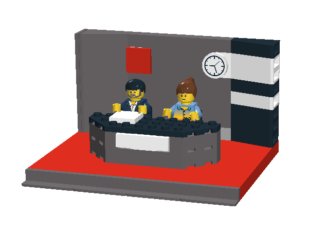 News desk png. Wip studio lego town