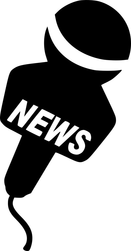 Media clipart news media. Press svg png icon