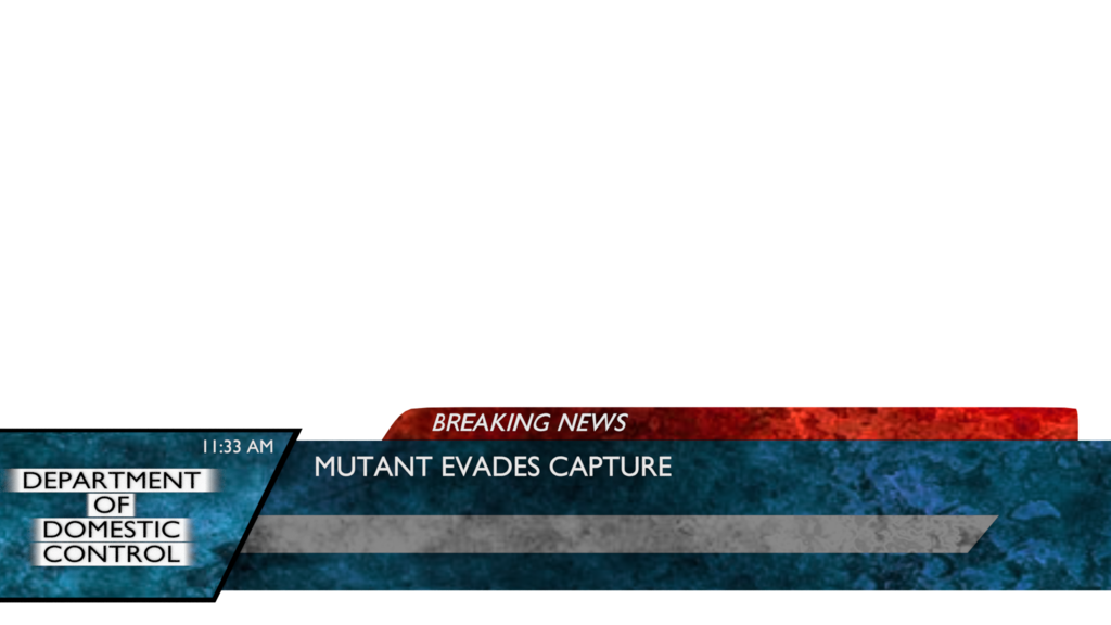 News template png. Sci fi bulletin by