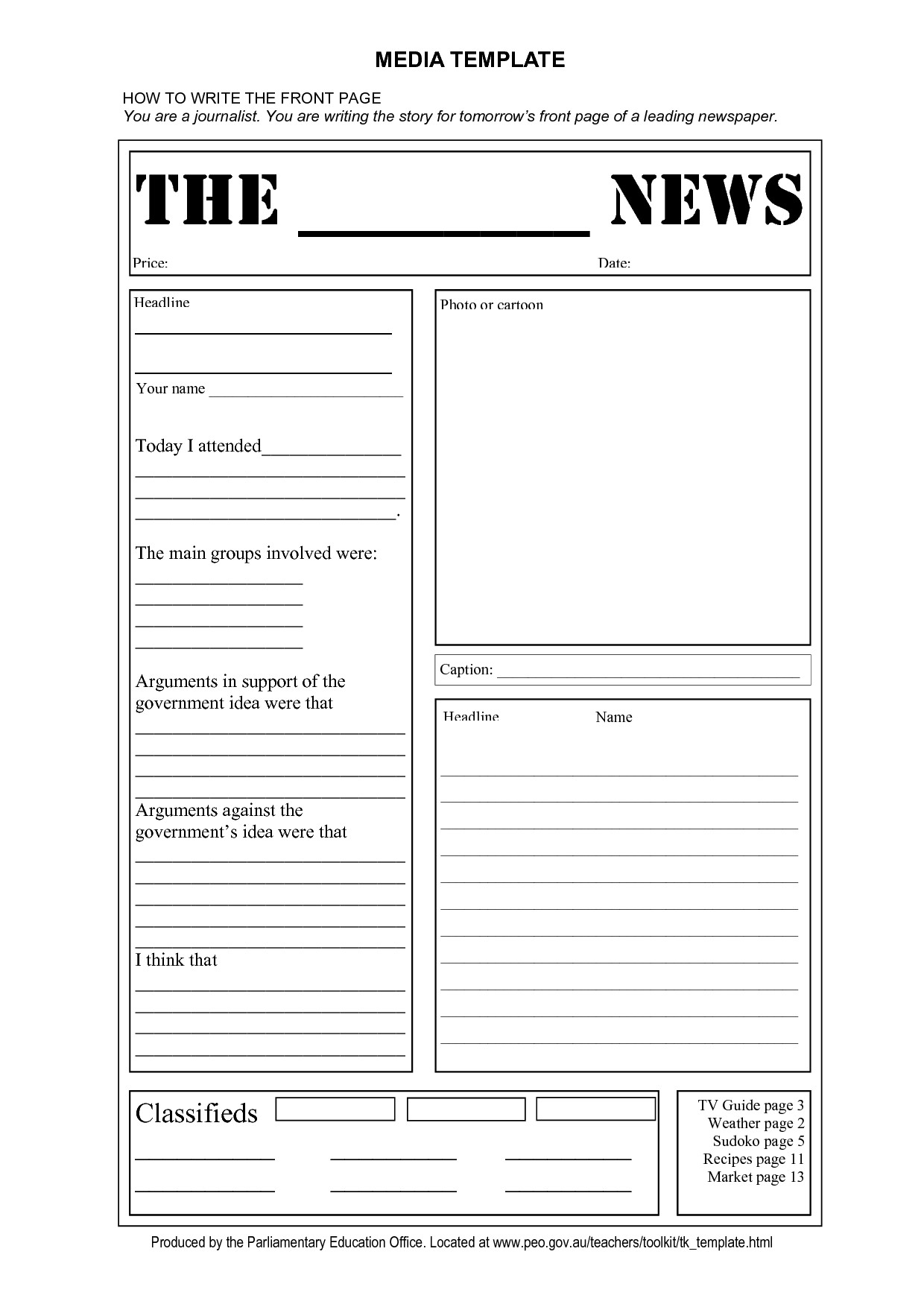 15 Newsletter Clipart Blank Newspaper For Free Download On Ya Webdesign