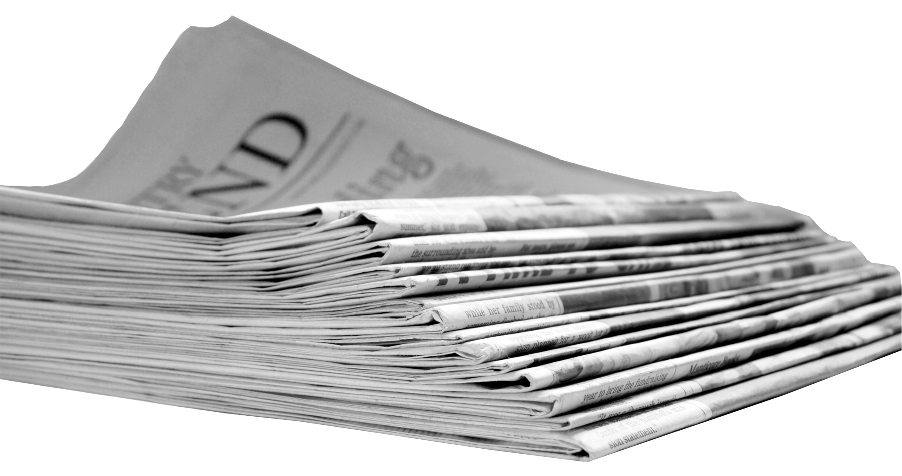 Newspaper background png. Transparent images all