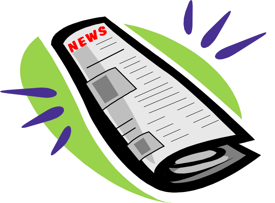 vector newspaper layout