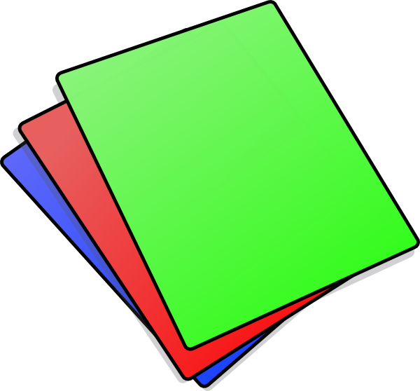 Color paper png