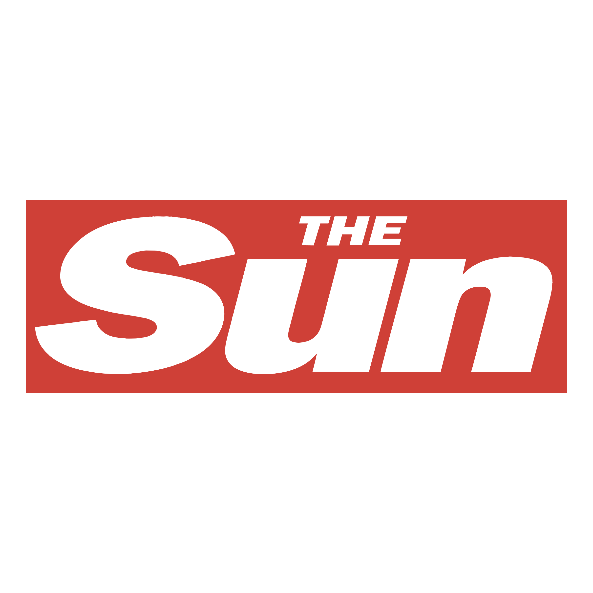 Newspaper logo png. The sun transparent svg