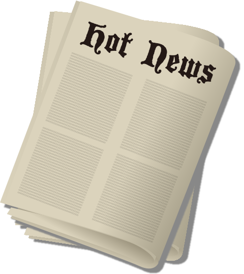 Newspaper vector png. Press icon svg public