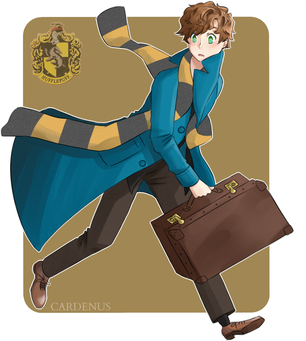 Newt drawing scammander. Scamander by cardenus on