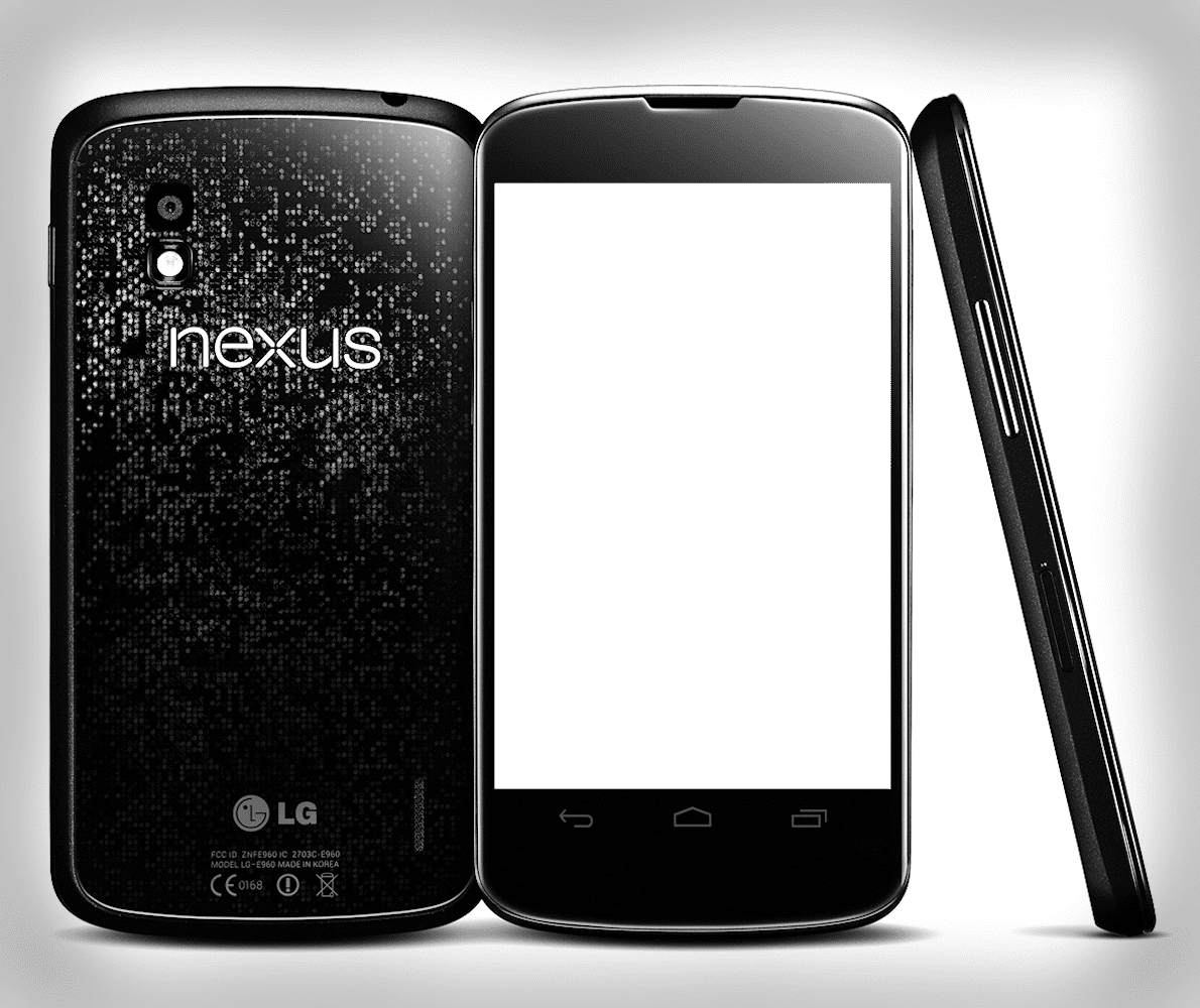 Nexus 4 png. For your screens google