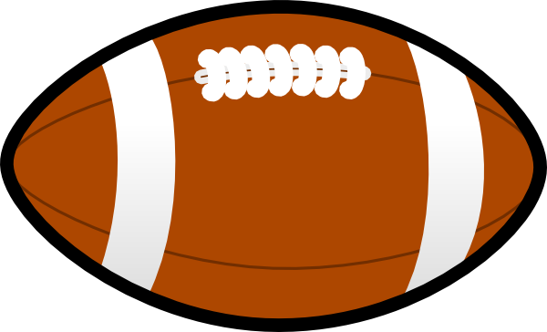 Nfl ball png. Sports clipart