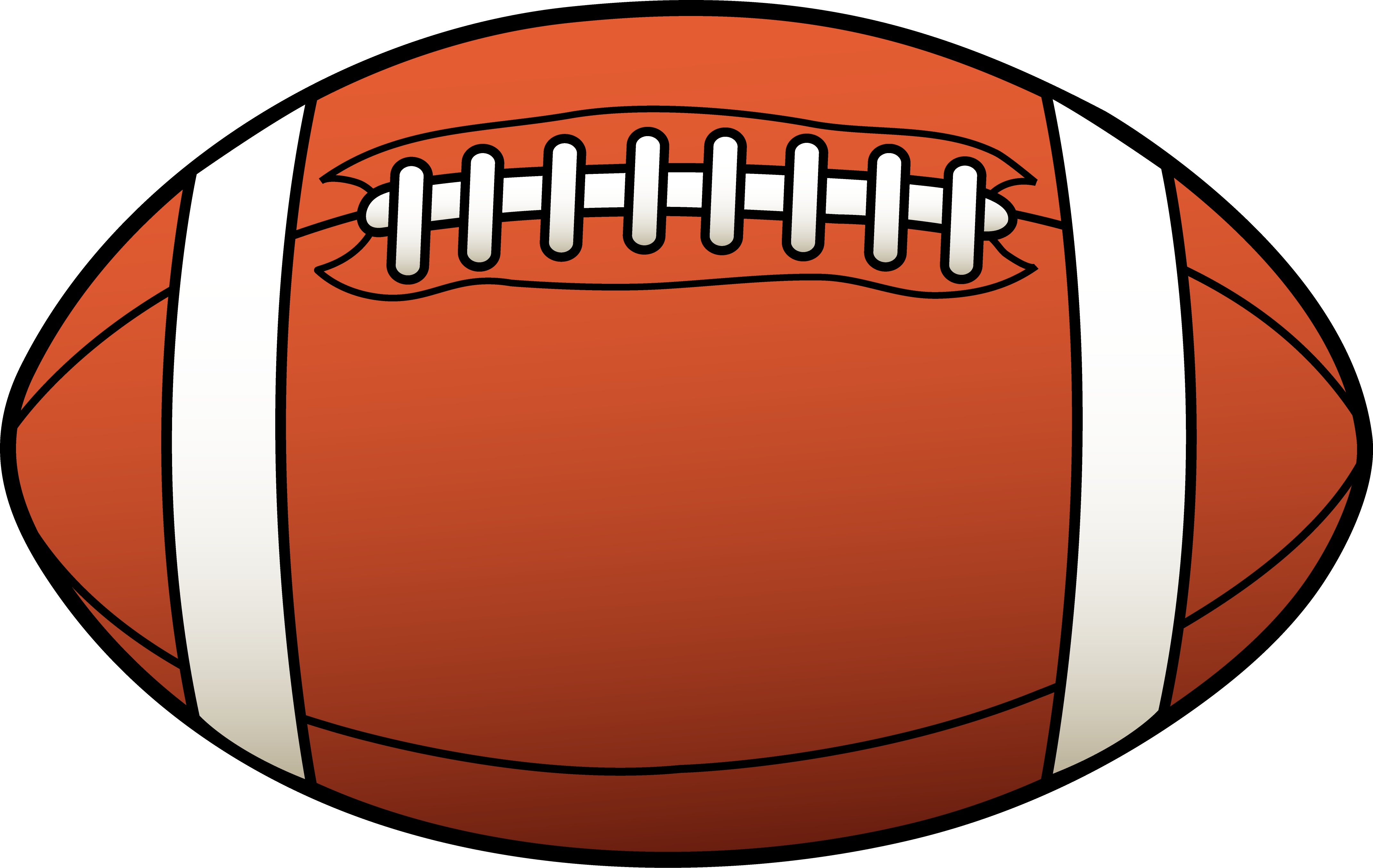 Ball clip orange thing. American football sport png
