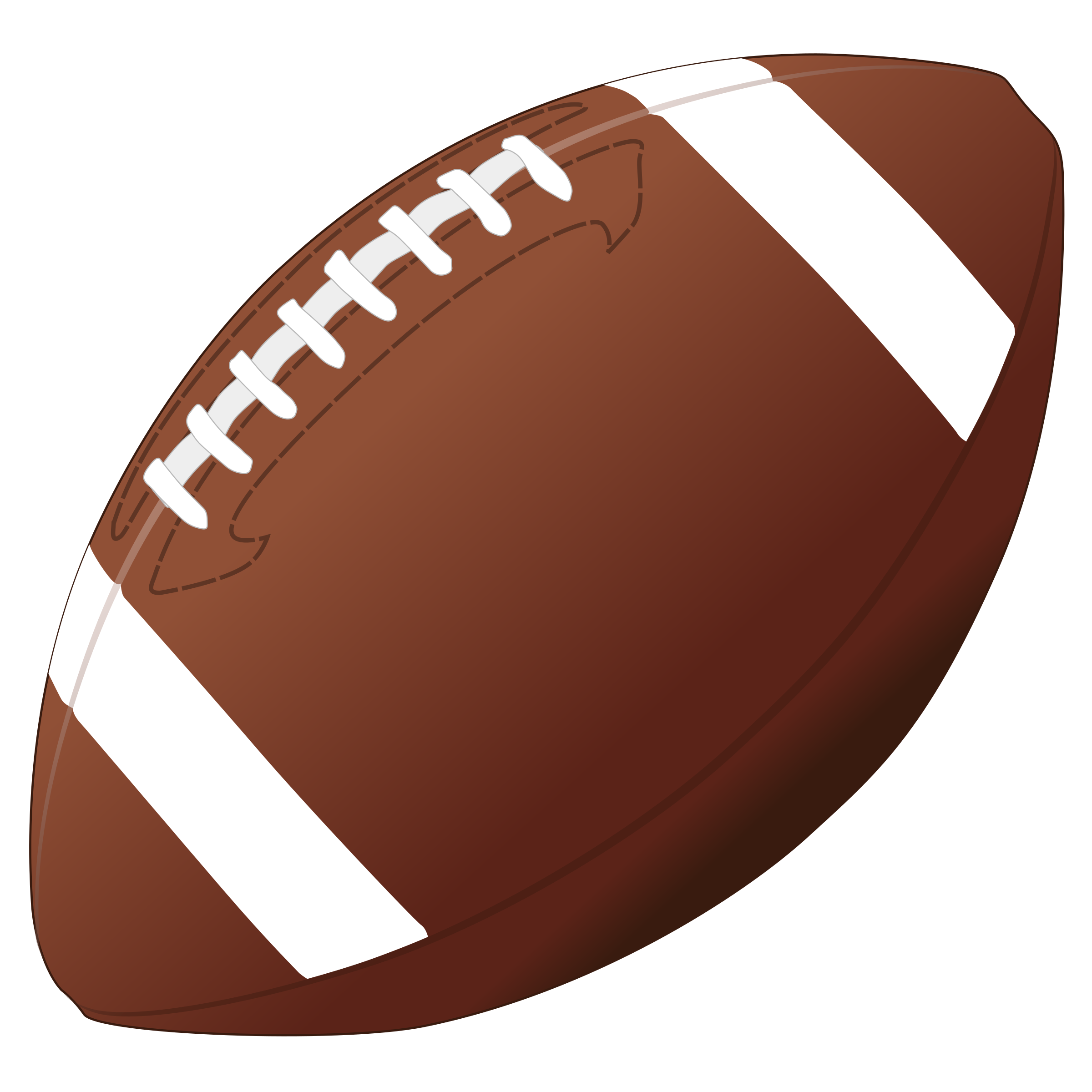 Nfl clip ball. Foot banner royalty