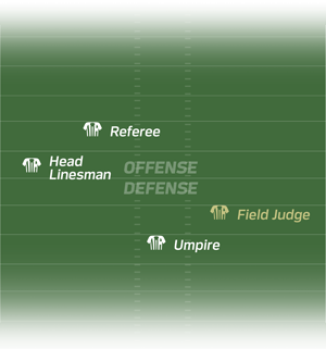 Nfl field png. History of the official