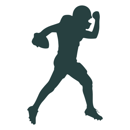 Svg Silhouette Football Transparent Png Clipart Free Download Ya