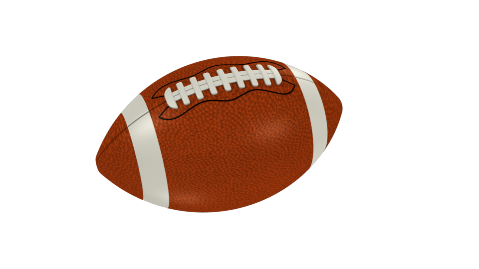 Nfl clip ball. American football png image