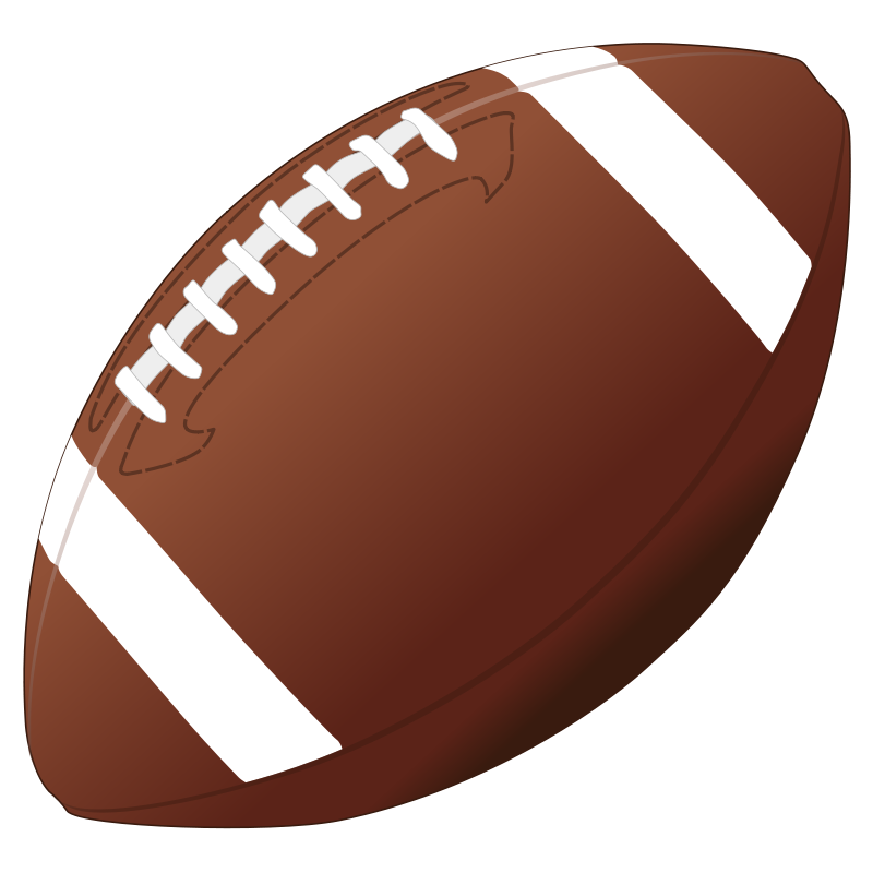 Nfl clip ball. Collection of football