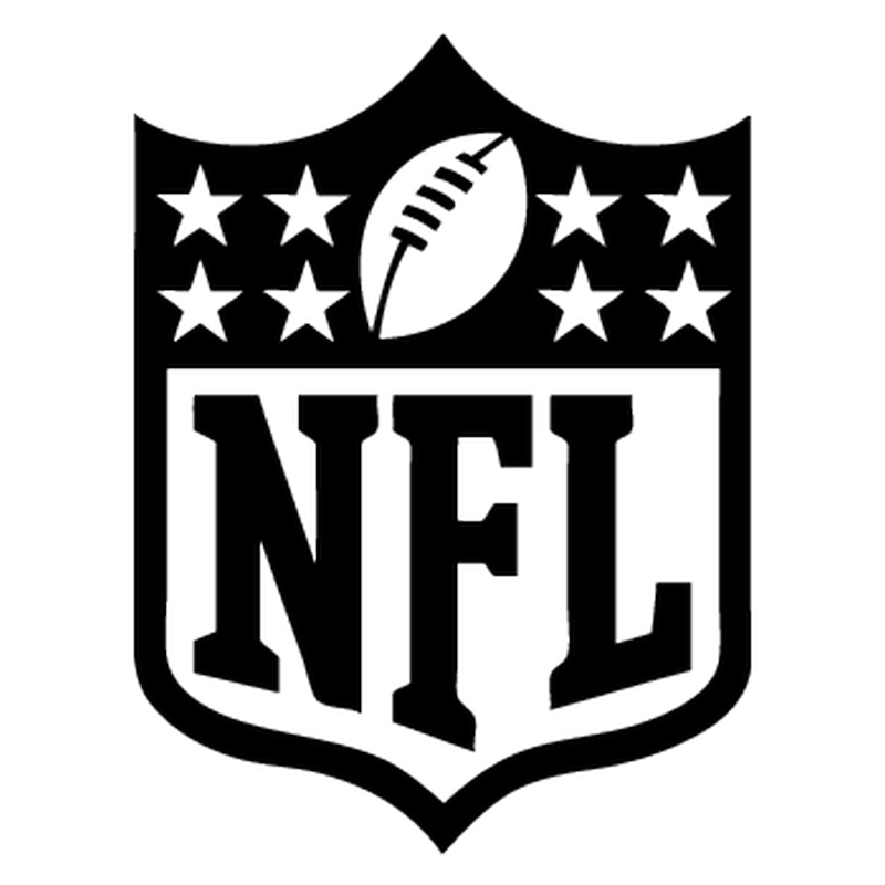Nfl logo png white. Decal
