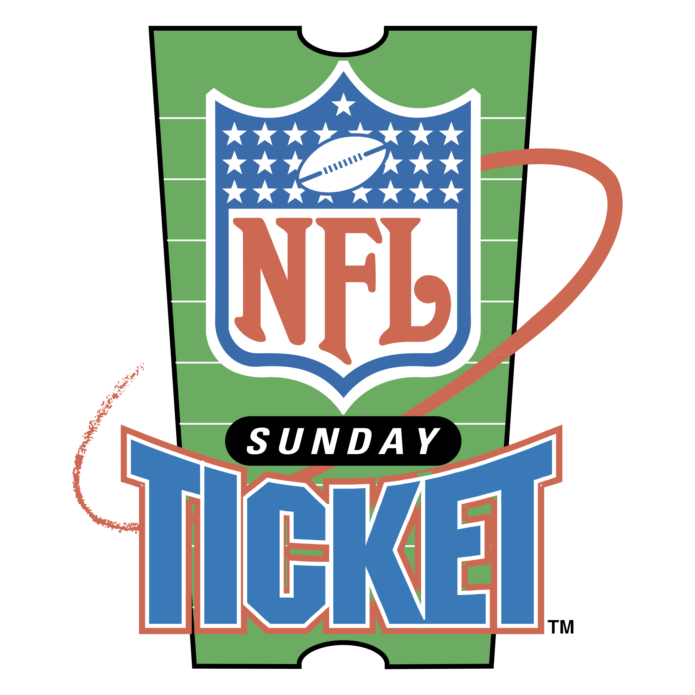 Sunday ticket logo png. Nfl transparent svg vector