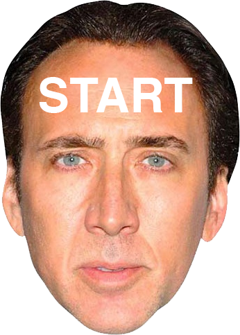 Nicolas cage meme face png. The this is a
