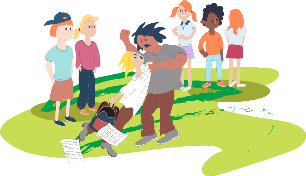 At school kids helpline. Bullying clipart deliberately picture free library