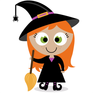 Nice clipart witch. Cute at getdrawings com