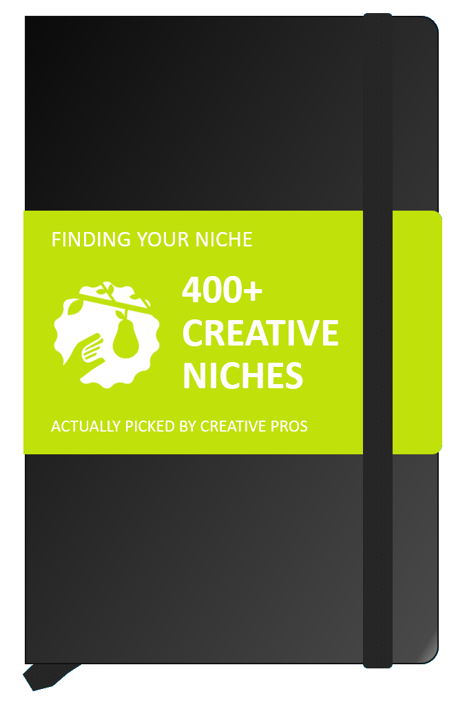 Niche vector wall. Market examples for
