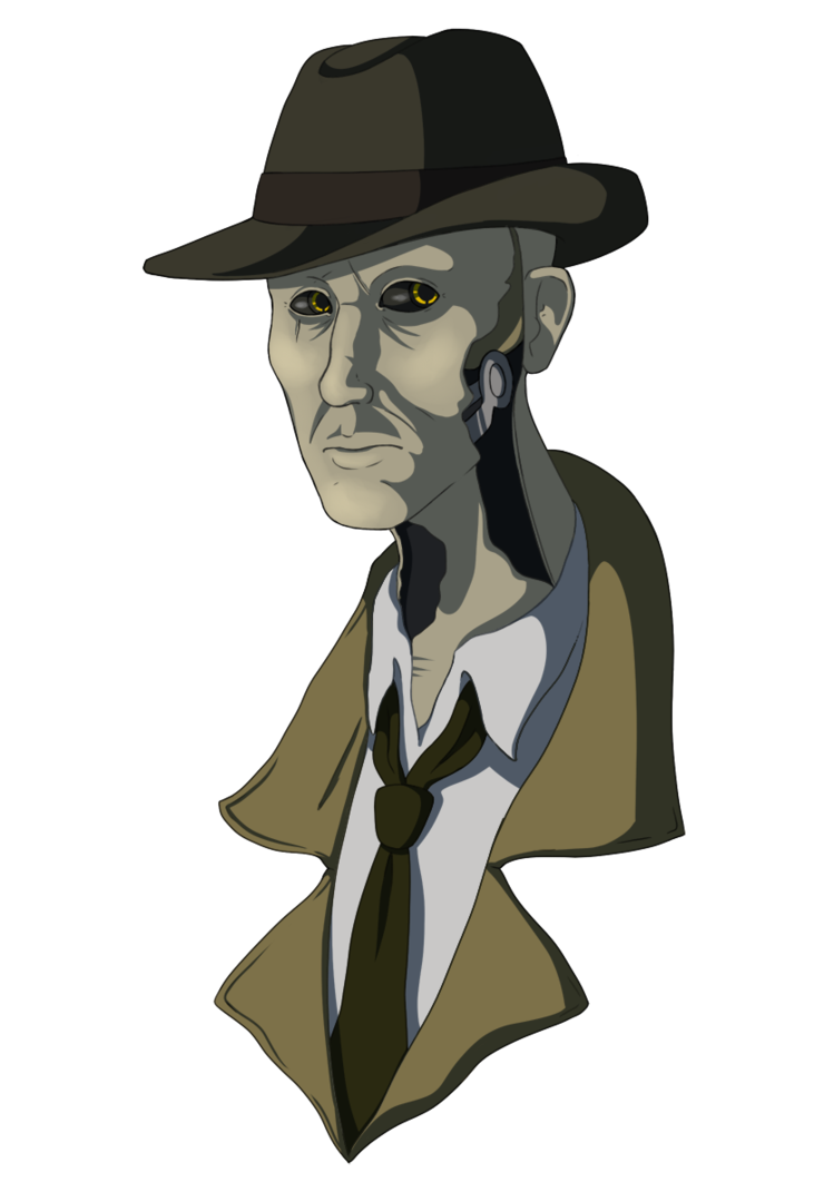 Nick valentine png. By liquorice drop on