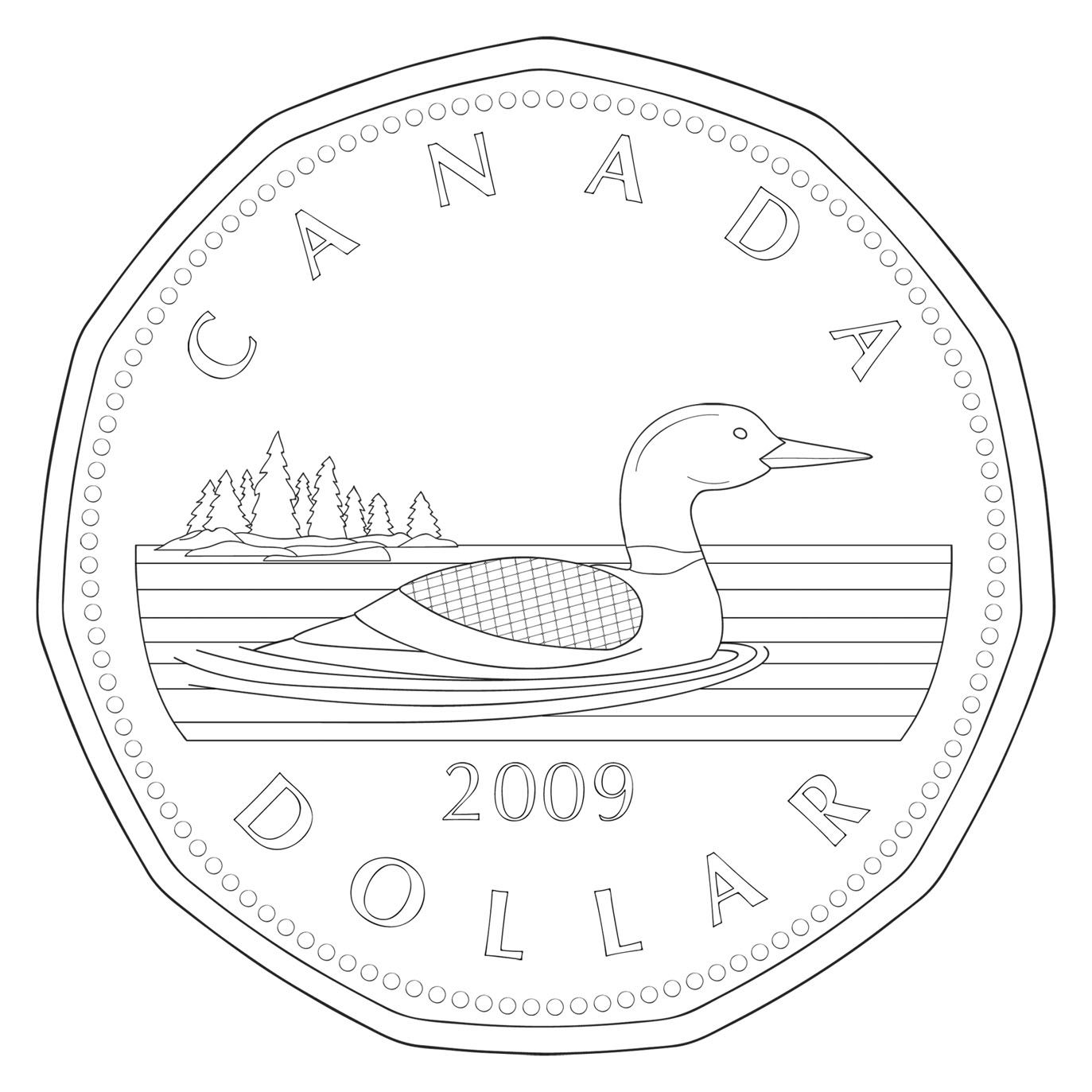 Nickel clipart money canadian. Black and white clip