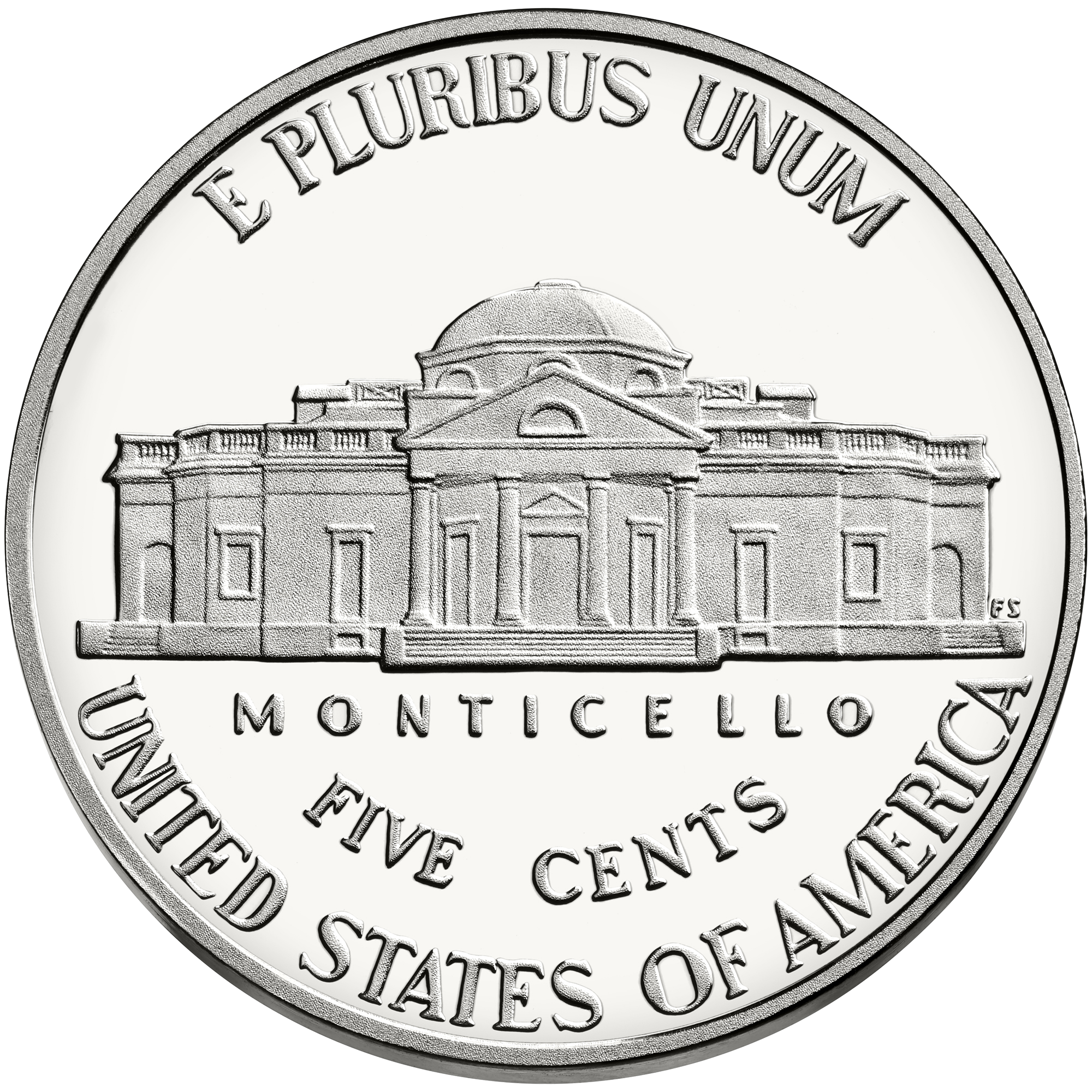 Nickel coin png. File us rev wikimedia