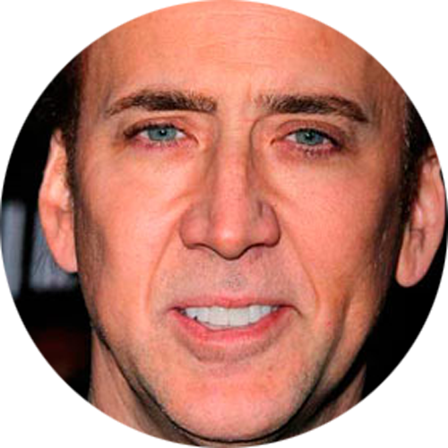 Nicolas cage face cut out png. San diego smile dentistry