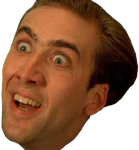 Nicolas cage meme png. Nic face images in