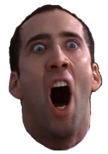 Nicolas cage face png. I couldn t find