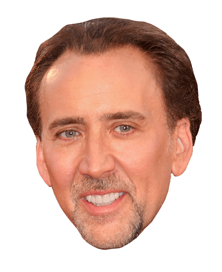 Nicolas cage face png. Transparent images stickpng smiling