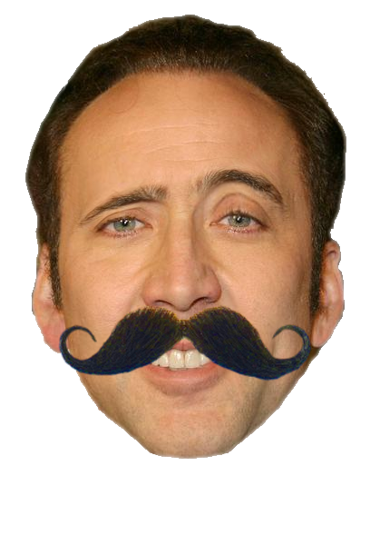 Nicolas cage meme face png. Latin nick for the