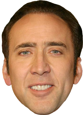 Nicolas cage meme png. What will be your