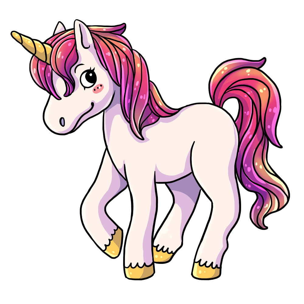 Nicorn clipart cute. Unicorn free to use