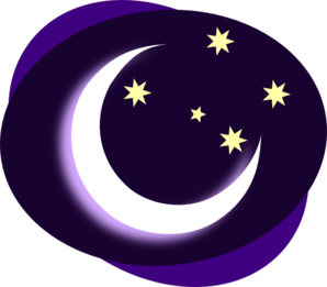 night clipart desert night
