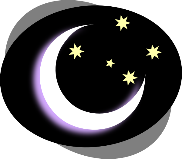 Night time png. Collection of clipart