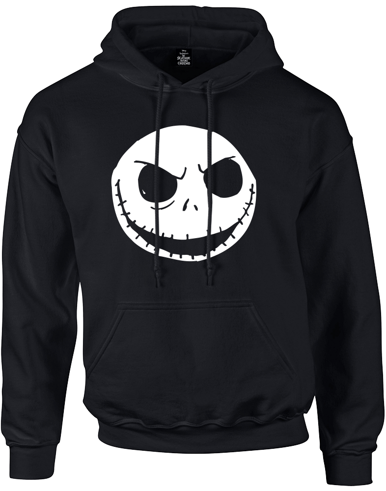 Nightmare before christmas night shade labels black and white png. The jack skellington pullover