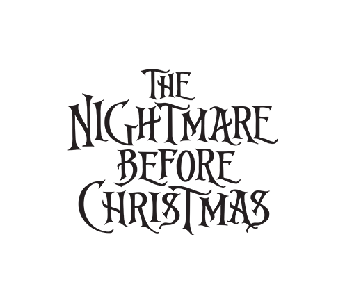 Nightmare before christmas night shade labels black and white png. Pop disney sally with
