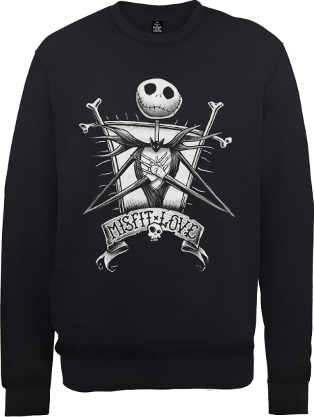 Nightmare before christmas night shade labels black and white png. The jack skellington misfit